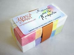 soap cubes idea