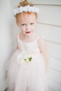 Ballerina inspired flower girl: http://www.stylemepretty.com/massachusetts-weddings/falmouth/2014/09/30/stylin-cape-cod-wedding-at-the-sea-crest-beach-hotel/ | Photography: Servidone Studios - http://servidonestudios.com/