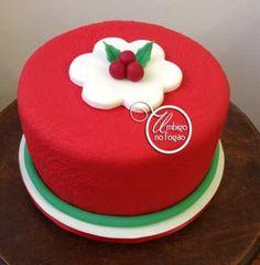 Christmas Cake  by Danielle Rollemberg - Umbigo no Fogão