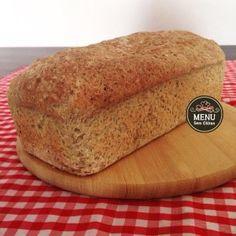 Pão sem glúten e sem lactose de Painço e Linhaça