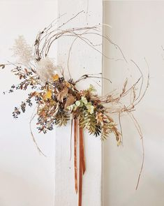 Modern fall wreath i