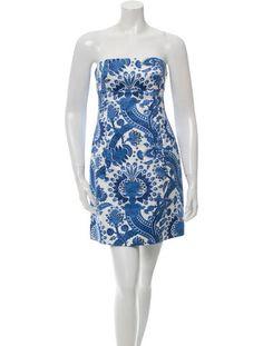 Michael Kors Sleeveless Printed Dress