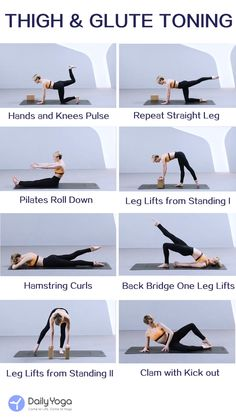 pilates workout routine Lift your legs and work the glutes. Tone your butt, thighs and hips. Pilates Training, Pilates Workout Videos, Pilates Video, Pilates Abs, Pilates Mat Exercises, Pilates Poses, Kettlebell Training, Stretching Exercises, Fitness Herausforderungen