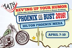 Save the date for the  AATH 2016 Conference -April 7-10 in Phoenix!