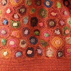 Sac Sophie Digard modèle Glenn potiron - crochet