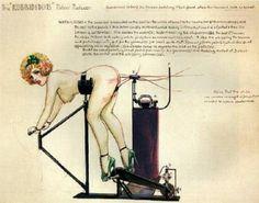Image detail for -... bizarre magazine 1940s 1950s vintage fetish whipping machine spanking