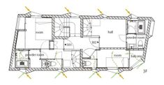 KURO Building,Floor Plan