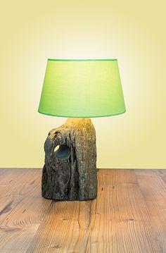 Naturstil-Leuchte Roßgruber Table Lamp, Design, Home Decor, Wood Stone, Light Fixtures, Stones, Nature, Table Lamps, Decoration Home
