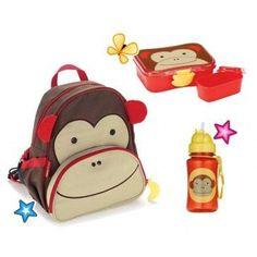 Deze Skip Hop Aap school Combipack vind je op www.liefzebraatje.nl