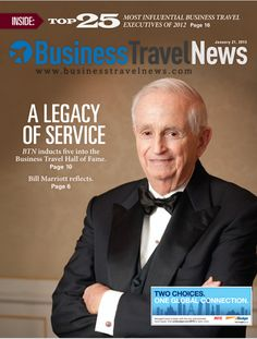 January 21, 2013 issue of BTN, featuring the Top 25 Most Influential Busines Travel Executives of 2012 and the Business Travel Hall of Fame #businesstravel #biztravel
