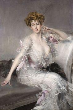 Portrait of Anna Elisabeth Hansen, by Giovanni Boldini (1902)