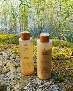 Cottage life with Four Reasons Nature products. Tomorrow Will Be Better, Dancing In The Rain, Ecology, Shampoo, Conditioner, Cottage, Personal Care, Vegan, Nature