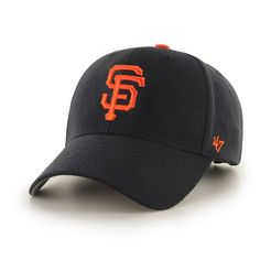 Get into the action with this one-of-a-kind San Francisco Giants Basic Logo Clean Up adjustable hat from Brand! It features a sweet San Francisco Giants design. Everyone will know which team you love when you sport this San Francisco Giants hat! San Francisco Giants, Snapback Cap, Caps Hats, Mlb, Wool Blend, Perfect Fit, Baseball Hats, Black, Crown