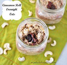 Cinnamon Roll Overnight Oats - My Whole Food Life 1