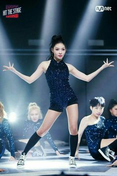 hit the stage Kpop Girl Groups, Korean Girl Groups, Kpop Girls, Stage Outfits, Kpop Outfits, Ioi, Rose Dress, South Korean Girls, Most Beautiful Women