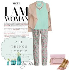 """J.Crew trouser and shoes"" by ivybui on Polyvore"