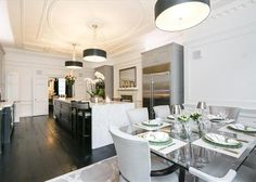 7 bedrooms House For Sale in Upper Brook Street, Mayfair, « Wetherell Timber Front Door, Front Doors, Front Door Design, Property For Sale, Home And Garden, Real Estate, London, Luxury, Stylish