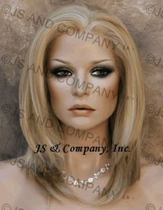 Wow, natural and love the color on this lace front wig. You can get this from jennyshairsense.com