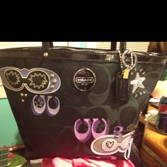 My new coach purse