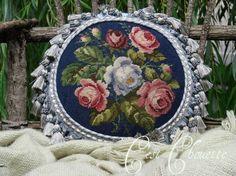 Needlepointe pillow