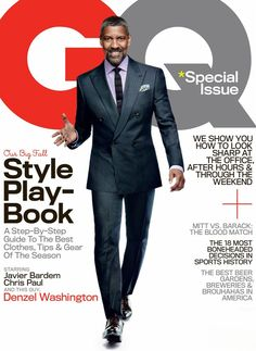This has to be the best cover that GQ Magazine has released in a loooong time.