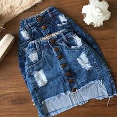 Winter Fashion Outfits, Fall Outfits, Summer Outfits, Cute Outfits, Cute Skirts, Short Skirts, Short Outfits, Denim Skirt, Casual Dresses