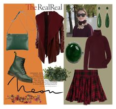 """Fall Style With The RealReal: Contest Entry"" by jasminka-m ❤ liked on Polyvore featuring LE3NO, The Row, Polo Ralph Lauren, CÉLINE, Dr. Martens, Vince Camuto and Nearly Natural"