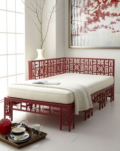 Chinoiserie Chic: Red and White