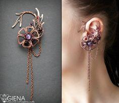 Cool earring / cuff.