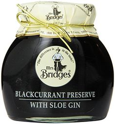 Mrs Bridges Preserve with Sloe Gin, Blackcurrant, 12 Ounce Mrs Bridges http://www.amazon.com/dp/B00934O4BK/ref=cm_sw_r_pi_dp_Pzk5wb1PR8WNR