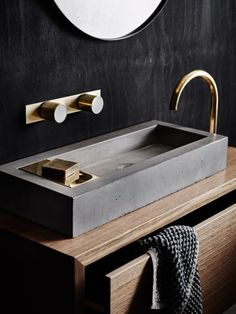#bathroom | Wood Melbourne — The Design Files | Australia's most popular design blog.