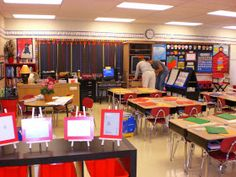 Great ideas for classroom decorating and set-up!