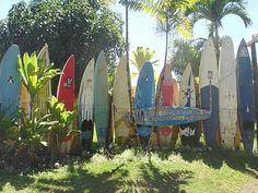 surfboard fence