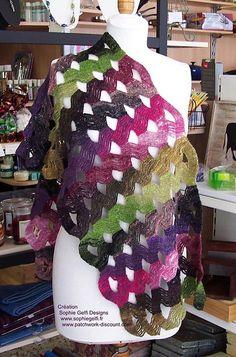 Ravelry: Design Stole pattern by Sophie GELFI Designs