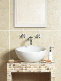 small tiles option for backsplash