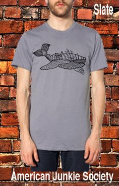 Mens Whale T Shirt'__/Boyfriend Gift/Mens Clothing(Hipster Graphic Tee)~Whale Tee Shirt. Urban T-shirt for guys- American Apparel TShirt. by AmericanJunkieSoc on Etsy https://www.etsy.com/listing/192619361/mens-whale-t-shirtboyfriend-giftmens
