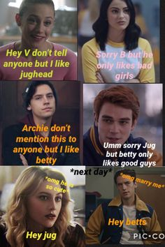 I made this for bughead🥰😍Lili Pauline The post I made this for bughead🥰😍Lili Paul… appeared first on Riverdale Memes. Memes Riverdale, Riverdale Netflix, Bughead Riverdale, Riverdale Funny, Riverdale Comics, Riverdale Archie, Memes Humor, Jokes, Dirty Dancing