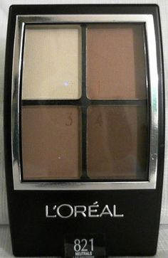 Loreal Wear Infinite Eyeshadow Quad Andies Neutrals 821 2 Ea ** Click image to review more details.