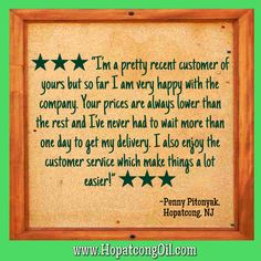 Customer Satisfaction....our greatest award at Hopatcong Heating Oil!  #HeatingOil #Diesel #sycamorecompanies #HVAC #Residential #Commercial #Rockaway #Dover #Denville #NJ #RockawayHeatingOil #RockawayDiesel #RockawayHVAC