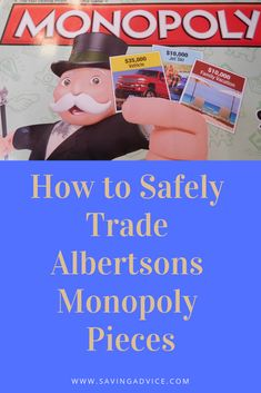 graphic regarding Albertsons Monopoly Game Board Printable called 15 Great Albertsons Monopoly 2019 visuals Recreation components
