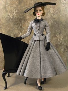 Couture Christian Dior Barbie Doll