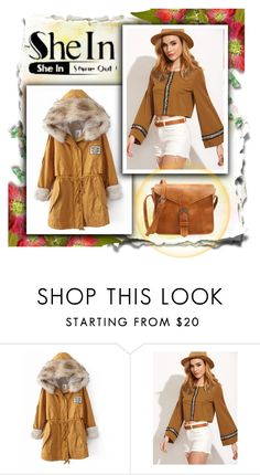 """""""SheIn"""" by red-rose-girl ❤ liked on Polyvore featuring modern"""