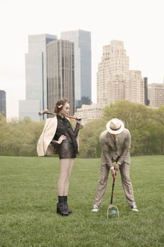 croquet in the city