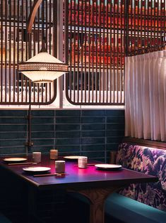 British Tea Hall Meets Chinese Canteen in 'John Anthony' Restaurant in Hong Kong.Photo by Jonathon Leijonhufvud. Architecture Restaurant, Restaurant Interior Design, Commercial Interior Design, Commercial Interiors, Home Interior, Modern Interior Design, Building Architecture, Design Interiors, Modern Chinese Interior