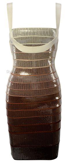 'Aguilera' Ombre Sequin Dress