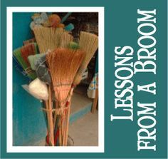 """The Scripture Lady loves creating Bible object lessons for kids! Here is one called """"Lessons from a Broom."""" Jesus was a Master Storyteller. Bible Story Crafts, Bible Crafts For Kids, Bible Study For Kids, Bible Lessons For Kids, Kids Church Lessons, Kids Bible, Youth Lessons, Preschool Bible, Sunday School Lessons"""