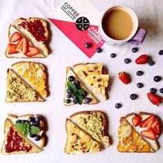Follow us on Instagram @coffeenotcoffee www.coffeenotcoffee.com.au Toast topping inspiration with Raspberry Ketone Coffee