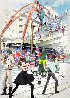 El Anime Gatchaman Crowds insight se estrenará en Julio y revela su equipo de producción.