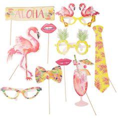 Photo Booth Tropical Flamingo
