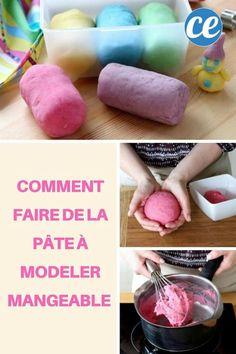 Comment Faire de la Pâte à Modeler MANGEABLE !
